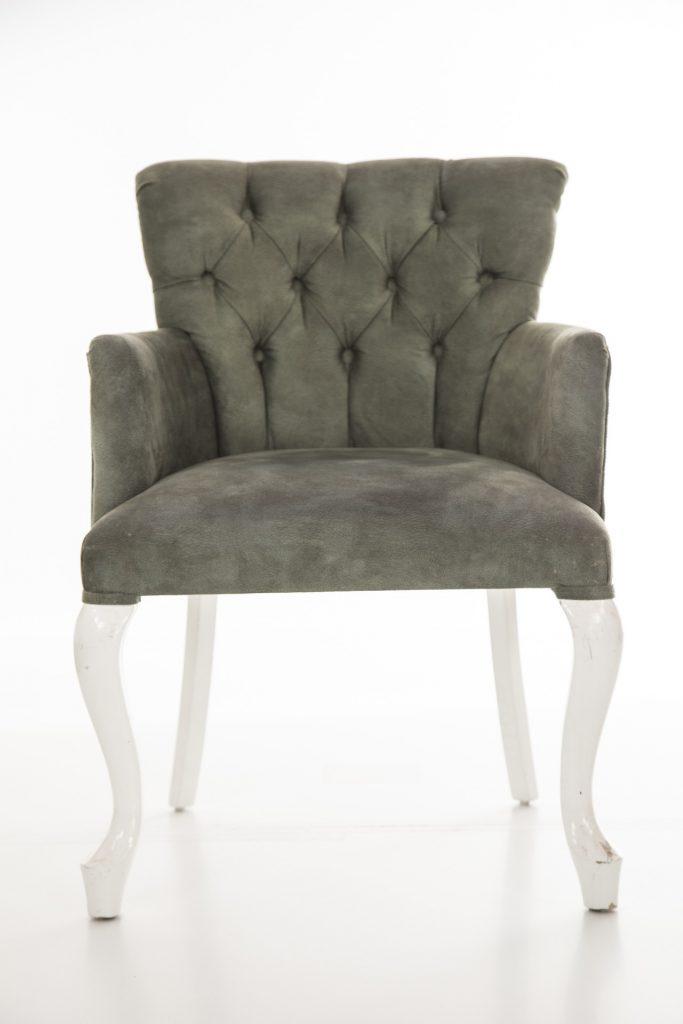krzeslo welur